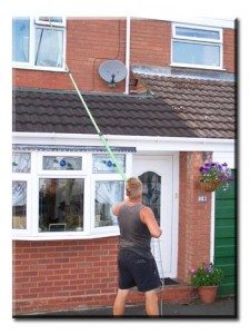 Window Cleaning Inaccessible Windows